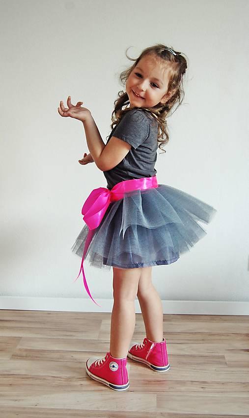 9cbfd10a4b31 Zavinovacia sukňa sivá   TinyThea - SAShE.sk - Handmade Detské oblečenie
