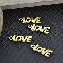 Komponenty - Prívesok LOVE - 5346880_