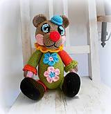 Hračky - Háčkovaný medvídek