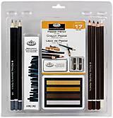 "17 dielna sada ""Pastel Pencil ART Set""  PRLRART-2007"