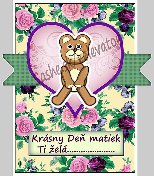 (aj na) Deň matiek - pohľadnica 2