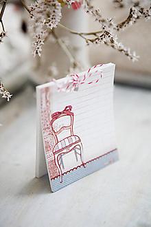 Papiernictvo - Trhací zápisník na nákupy 4 - 5349196_