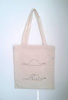 ba5a6e77be Nákupné tašky - plátená taška na želanie - motív -Malý princ - 5350160
