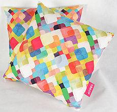 Úžitkový textil - Dizajnový vankúš TAKOY poťah 141 - 5349993_