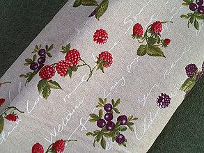 """Textil - Dekoračná látka """"lesné plody"""" - 5350966_"""