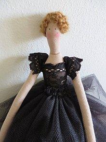 Bábiky - čierna labuť - 5350837_
