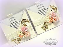 """Papiernictvo - Poďakovanie rodičom """"Romantické snívanie o láske..."""" - 5349070_"""