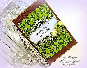 Papiernictvo - Svadobný plánovač Zuzky a Peťka - 5347716_