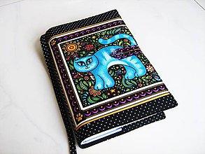 Papiernictvo - Naše Modrá - milý obal na knihu - 5350640_
