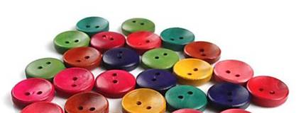 Drevené gombíčky 15mm (balíček 50ks)