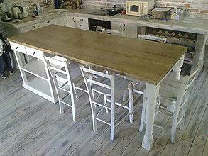 Nábytok - Ostrovček do kuchyne č. 1 - 5351410_