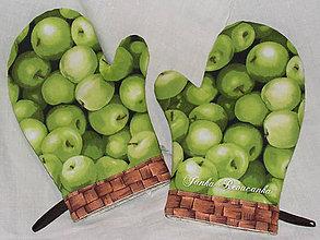 Úžitkový textil - jablčková rukavica - 5351444_