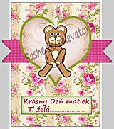 Papiernictvo - (aj na) Deň matiek - pohľadnica (3) - 5348691_