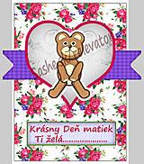 Papiernictvo - (aj na) Deň matiek - pohľadnica (9) - 5349675_