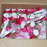 Pierka - Svadobná sada-pierka,náramky-vo vašej farbe - 5353627_