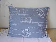 Úžitkový textil - Obliečka na vankúš - riflová - 5352966_