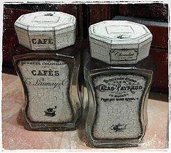 """Nádoby - Dózy """"Café & Cacao II."""" - 5354810_"""