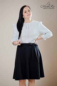 Sukne - Dámska sukňa aj so spodničkou - 5354708_