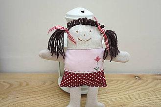 Hračky - Veselá Ruženka- bábika - 5354271_