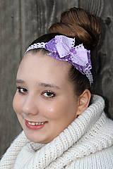 Ozdoby do vlasov - orgovánová mašla - 5354185_