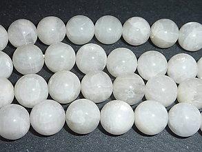Minerály - Mesačný kameň mliečny 10mm - 5354914_