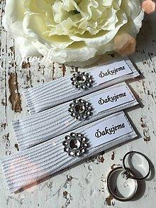Darčeky pre svadobčanov - Svadobné žuvačky  - 5353881_
