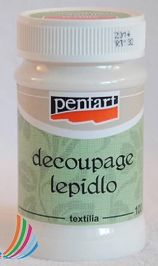 Lepidlo s lakom na textil, 100 ml