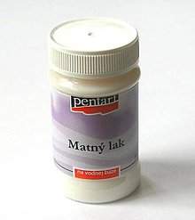Farby-laky - PENTART Lak matný, 100 ml - 5351808_