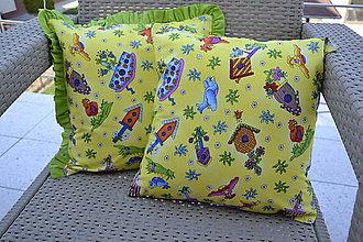 Textil - Vtáčie búdky - 5353524_