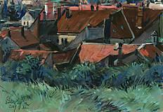 Obrazy - Modranské strechy 1 - 5353489_