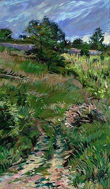Obrazy - V modranských vinohradoch - 5353402_