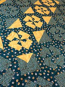 Úžitkový textil - Deka - Kvety v tráve. - 5351650_