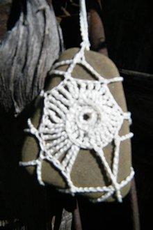 Úžitkový textil - Slimák na kameni - 5354770_