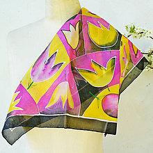 Šatky - Šatka Tulipány - 5357128_