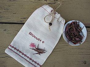 Úžitkový textil - Vrecko na bylinky - 5357754_