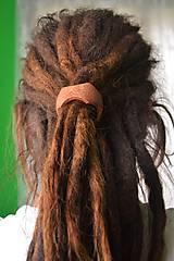 Ozdoby do vlasov - Classics - Drevená korála do dredov - 5358647_