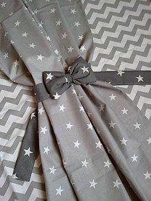 Úžitkový textil - mašľa na záves alebo baldachýn - 5359093_
