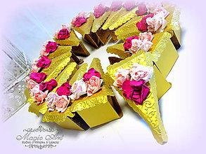 Papiernictvo - Rozkvitnutá dobrotka s vôňou ruží... - 5359290_