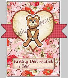 Papiernictvo - (aj na) Deň matiek - pohľadnica - 5359739_