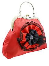 Kabelky - Spoločenská kabelka červená  1110 - 5363760_