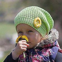 Detské čiapky - Púpavienka - 5363544_