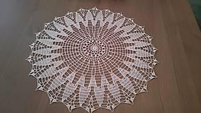 Úžitkový textil - Háčkovaná dečka od babičky - 5361790_