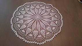 Úžitkový textil - Háčkovaná dečka od babičky - 5361798_