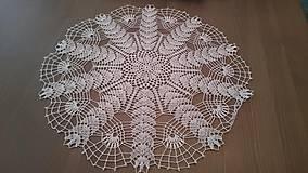 Úžitkový textil - Háčkovaná dečka od babičky - 5361804_