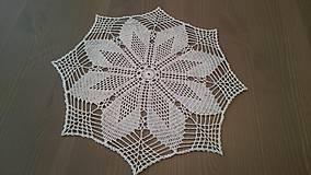 Úžitkový textil - Háčkovaná dečka od babičky - 5361820_