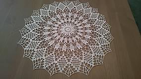 Úžitkový textil - Háčkovaná dečka od babičky - 5361827_