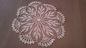 Úžitkový textil - Háčkovaná dečka od babičky - 5361834_