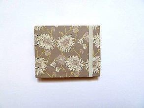 Papiernictvo - S bielymi kvetmi - 5362705_