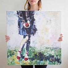 Obrazy - Jabĺčko od Amélie 60x60, reprodukcia - 5361737_