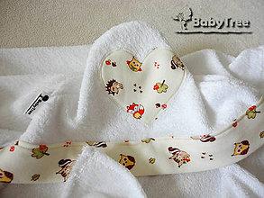 Textil - Bambusové Kapucíno – Detská osuška s kapucňou - 5360618_